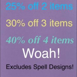 BIG SALE! Save BIG!! Don't miss out!